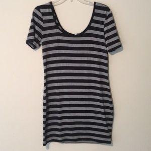 Cute striped mini dress